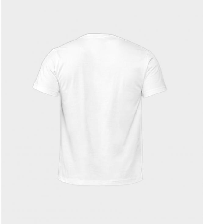 თეთრი მაისური უკანა მხარე